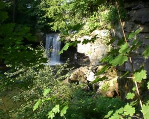 """Cascade Park Waterfall"" By Joseph Hanna"