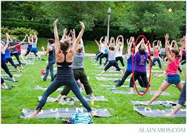 yoga people for cascade park 2015