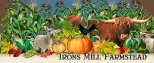 irons mill farmstead logo