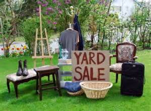 yard sale for volant