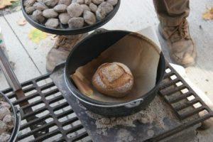 Cast Iron Bread